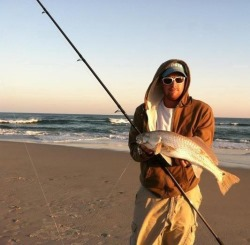 Puppy Drum, caught by Jessie North Carolina Surf