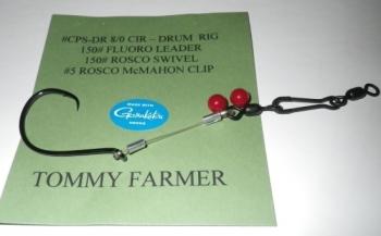 """TOMMY FARMER"" FISHFINDER DRUM RIG, 5-PACK"