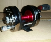 "Akios 656 SCM ""Black Widow"" reel"