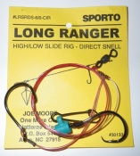 Sporto Fishing Rig, 5 Pack